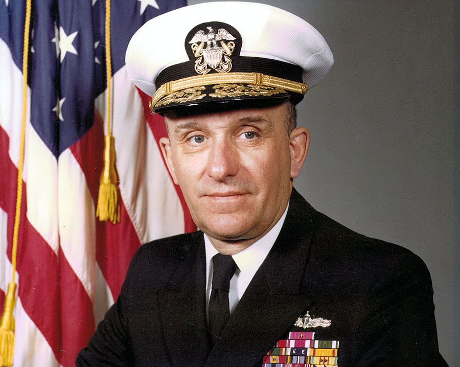 RADM Warren C. Hamm, Jr. '49 U.S. Navy (Ret.) picture