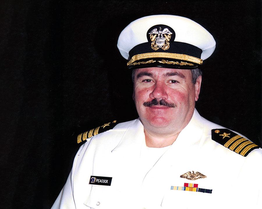 Capt. Robert J. Peacock, II '71 USNR picture
