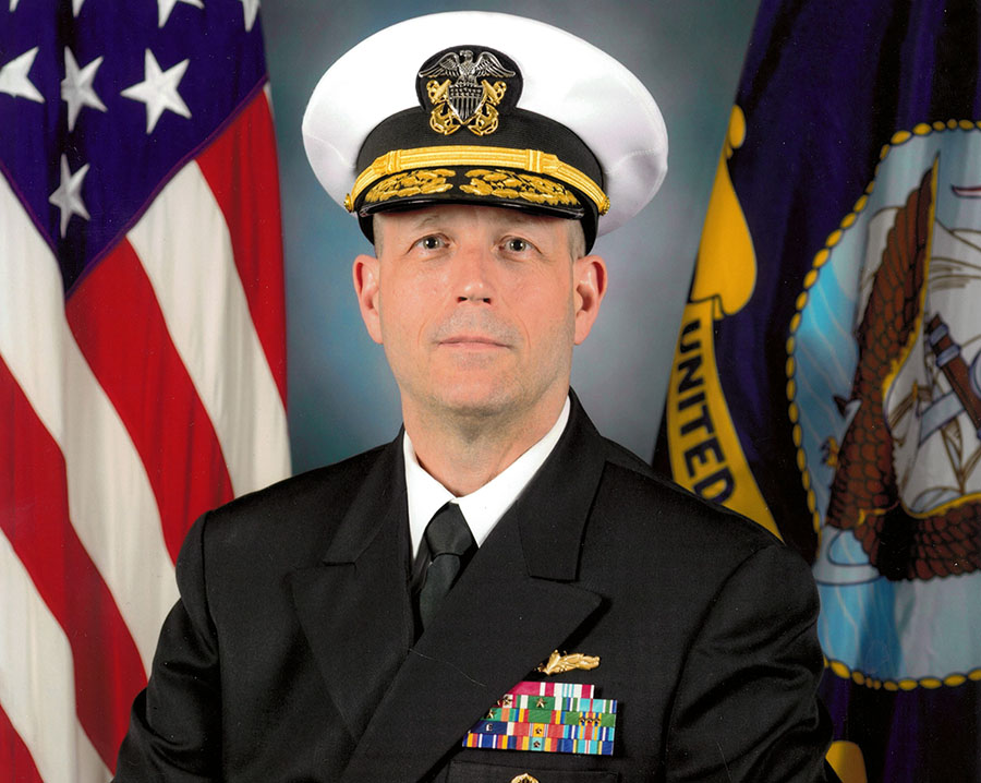 RADM Mark R. Whitney '82 picture