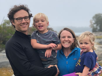 Matthew Stephens and family
