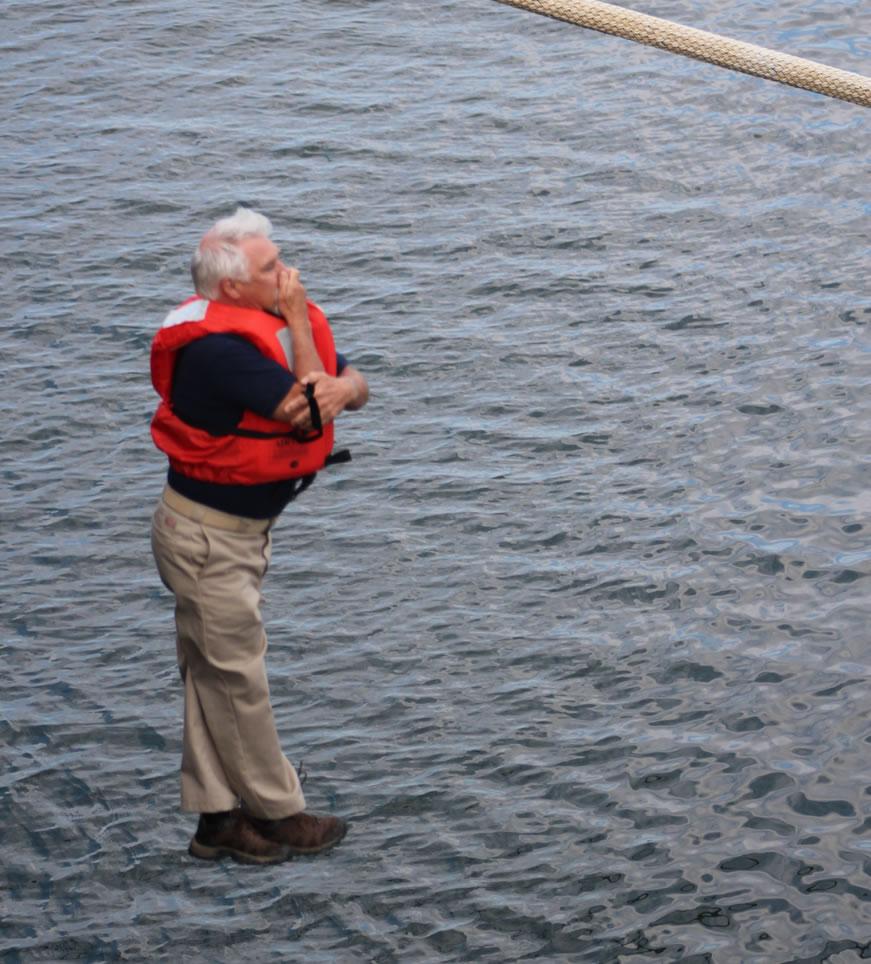 President Brennan jumping from TSSOM