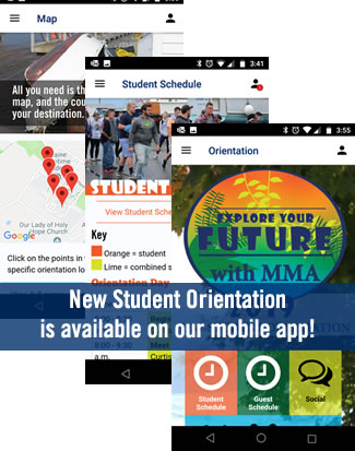 New Student Orientation Live in App