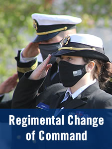 Regimental Change of Command Ceremony