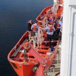 TSSOM Lifeboat training
