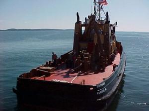 Tug Pentagoet at sea