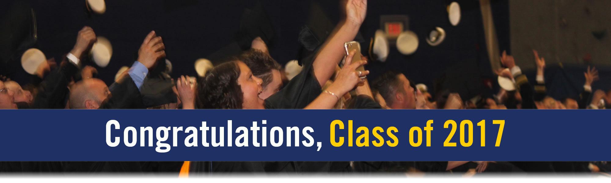 Congfratulations Class of 2017