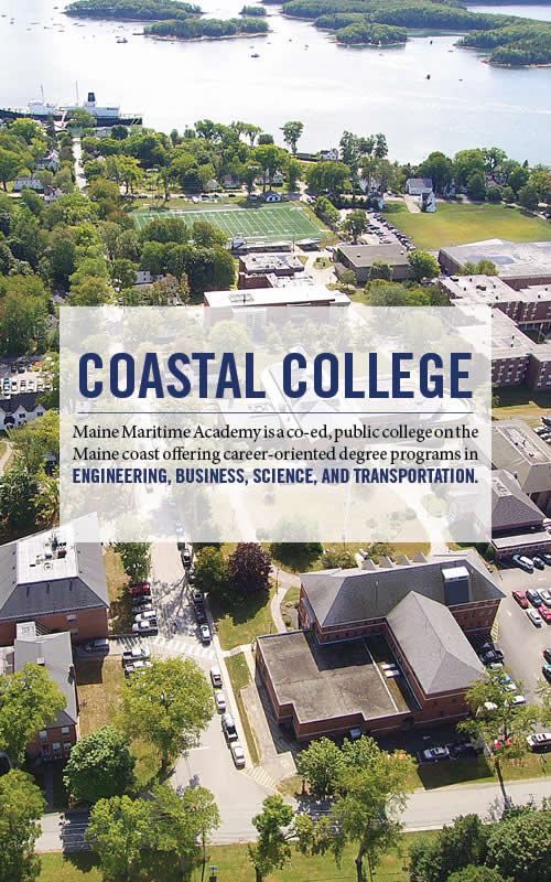 Mass Maritime Campus Map.Maine Maritime Academy A College Of Engineering Management